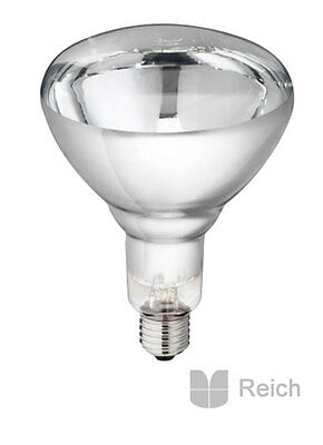 10 Lampe infrarouge en verre trempé Emetteurs Philips 250 W transparent