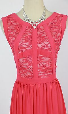ebedcfed9 Morgan & Co USA Grand Coral Long Evening Cocktail Cruise Prom Formal Size 7