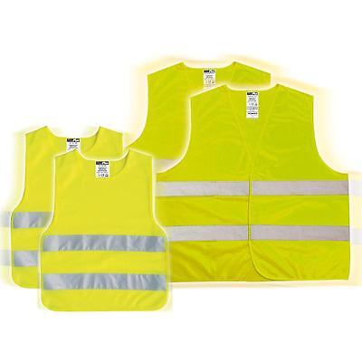 High visibility vest 4 Piece Families Set 2 x Erw. 2 Kind Safety Breakdown