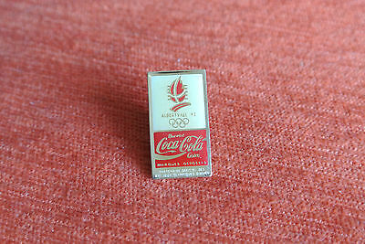 14435 Pin's Pins Jo Olympic Worldgames Coca Cola 1992 Albertville