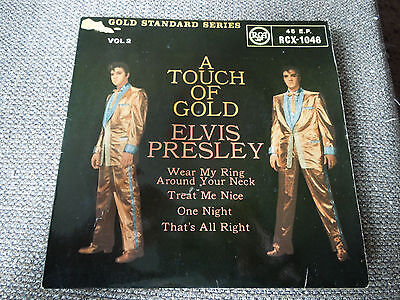 "Elvis Presley A Touch Of Gold Vol 2 RARE 7"" Single"