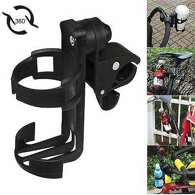 Universal Baby Stroller Pram Bicycle Bike Cup Drink Milk Bottle Holder Stand