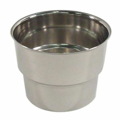 MALT CUP COLLARS (three) S/S for ice cream malt cups 69667