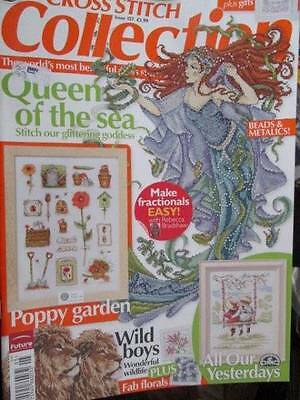 Cross Stitch Collection UK Magazine #157-Joan Elliot Queen Of Sea/Lions/Poppy Ga