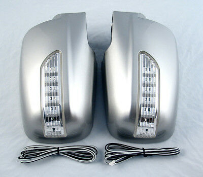 KIA SORENTO up 2009 PAGES MIRROR HOUSINGS LED INDICATOR SILVER TUNING