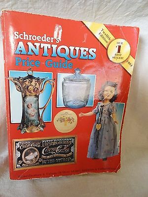 Shroeder's Antique Price Guide 1994 12th Edition 602 pages
