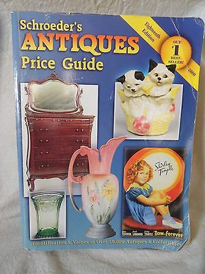 Shroeder's Antiques Price Guide 2000 Bob & Shawn Huxford 18th Edition