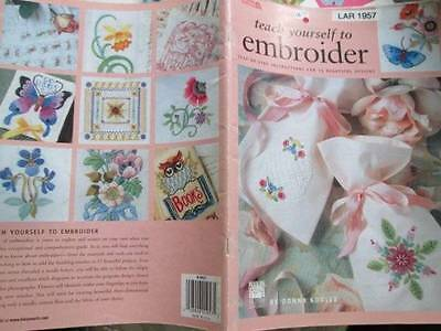 Leisure Arts Embroidery Book Your Choice-Fun & Funky Transfers OR Teach Your