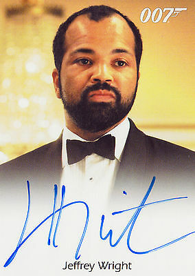 James Bond 2016 Classics Autograph Trading Card Full Bleed Jeffrey Wright