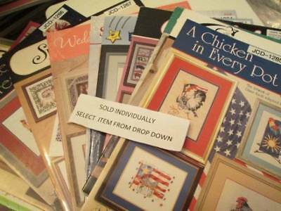 Jeanette Crews Designs Cross Stitch Booklet Your Choice