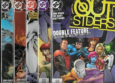 OUTSIDERS 2004 SERIES LOT OF 32 - #1 #2 #3 w#4 #5 #6 #7 #8 #9 #10 #11-#32 (NM-)