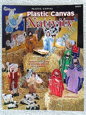 Plastic Canvas Pattern Nativity The Complete Scene Manger Mary Joseph Wisemen