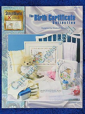 Cross Stitch Pattern The Birth Certificate Baby Record