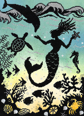 Bothy Threads Fairy Tales Enchanted Mermaid Cove Cross Stitch Kit