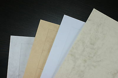 Business Cards Marmor 10 Cards Sheet Microperforated Marbled 200 g