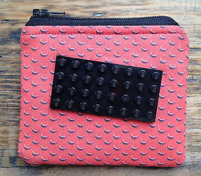 REDUCED - CUSTOMISE YOUR OWN!!! Handmade Fabric Coin Purse Wallet Lego inspired