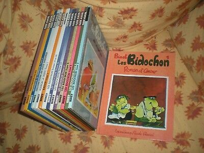 Les Bidochon - Lot De 6 Tomes En Reeditions - Binet