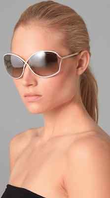TOM FORD TF179 Color 28G Shiny Gold Sunglasses Brown Mirror Lens. K