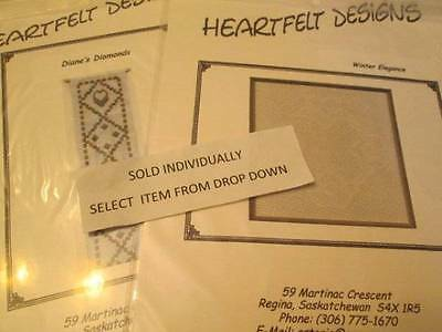 Heartfelt Designs Specialty Stitch CHART Your Choice