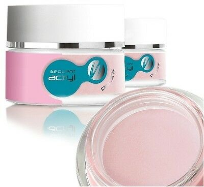Silcare Sequent Lux Pro Acrylic Powder Pink 12g
