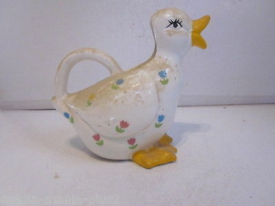 Vintage Price Products Ceramic Duck Shaped Milk Or Water Pitcher