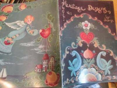 Heritage Designs Painting Book-Jo Sonja -Animals/Birds/Flowers/Angels/Fruit