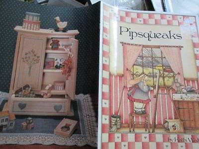 Pipsqueaks Painting Book #1-Walters-Santa Gathering/Houses/Painting Bunny/Theodo