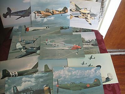 Set Of 15 After The Battle Postcards Of Aircrafts Wwii