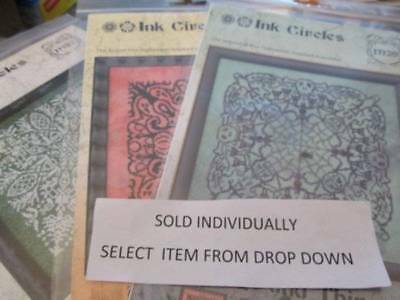 Ink Circles Halloween/Christmas/Others Cross Stitch CHART-Your Choice