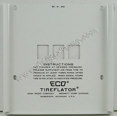 Eco 90 Series Air Meter 3 Wheel Face Plate Am-102