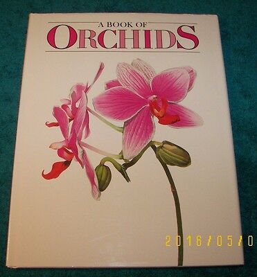 NEW Book of Orchids by Dr. Carl Wither 32 of most Beautiful Orchids A Must Read
