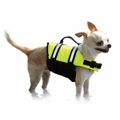 XX-SMALL DOG LIFE PRESERVER yorkie chihuahua toy poodle DOG LIFE VEST FLOAT VEST
