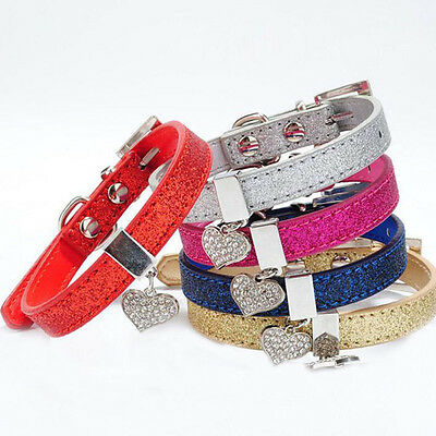 New Bling Pet Dog Collar Adjustable Puppy Cat Collar For Small Dogs Pets Collars