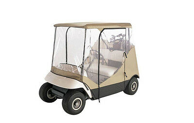 Travel 4-Sided Golf Car Enclosure cart vehicle cover rain protection sun w case