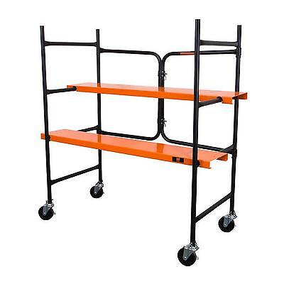 Collapsible 500 Lb Scaffold Tower DIY Rolling Scaffolding High Platform Tower