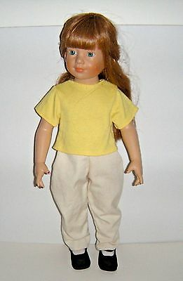 Vintage Doll Clothes Pants & Top For Magic Attic Club & American Girl Fits 18""