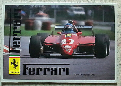 FERRARI MARANELLO Car Press Media Pack Brochure Photos Oct 1982  BB512i  308GTS+