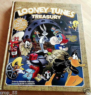 The Looney Tunes Treasury, Limited Edition, hard cover book, Warner Bros. Vault!