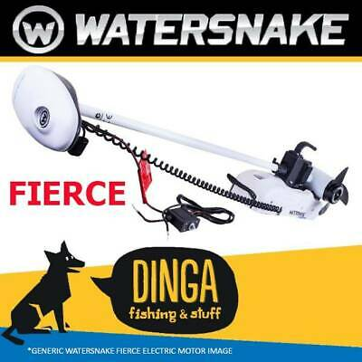 Watersnake Fierce 54lb 48'' Shaft Remote Control Bow Mount Electric Motor