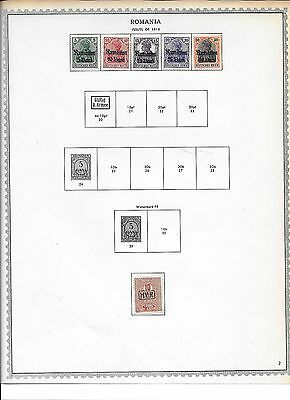 Small lot of Romania Occupation stamps (lot 11)