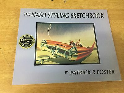 SJA The Nash Styling Sketchbook Patrick Foster Signed Copy RARE 0966201906