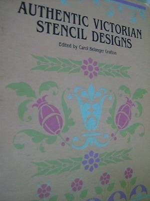 Authentic Victorian Stencil Designs Book-Carol Belanger Grafton/Dover, Paperback