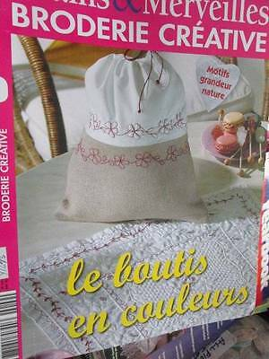 Mains & Marveilles Broderie Creative #9-Le Boutis En Couleurs-French Embroid