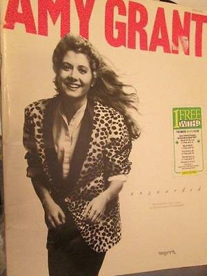Amy Grant Unguarded Music Book, Paperback, 1985