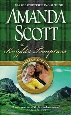 The Knight's Temptress by Amanda Scott Paperback Book (English)