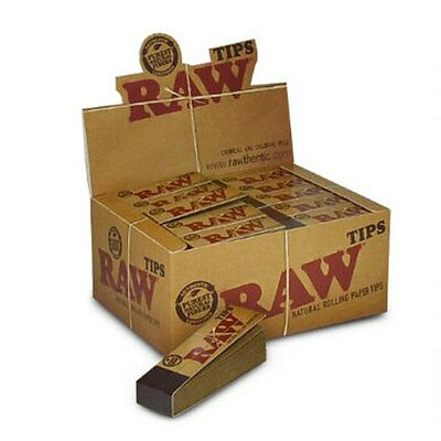Bulk Buy 50 x Booklets Raw Natural Rolling Paper Filter Tip Smoking Tobacco