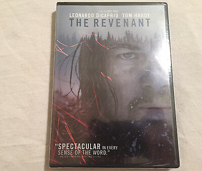 The Revenant (DVD, 2016) BRAND NEW - FREE SHIPPING TO THE US!!!