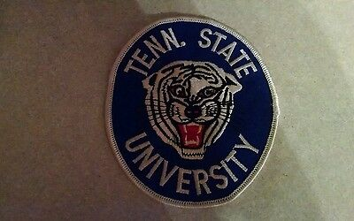 Tennessee State University (Now Memphis State) Police Patch  (Tiger)