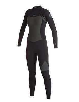wetsuits combinaison surf ROXY Syncro GBS 4/3mm cheast zip poitrine ARJW103038