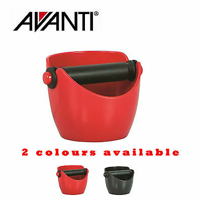 Avanti Coffee Knock Box Bin for Barista Espresso Grinds Tamper Waste